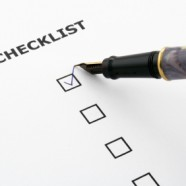 THE CHRISTIAN'S CHECKLIST